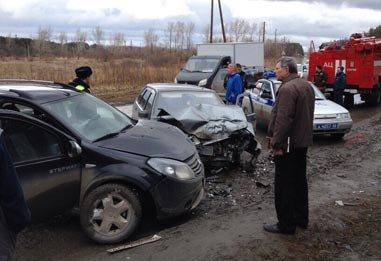 ДТП в районе 25 квартала - виновник аварии сел за руль в состоянии опьянения