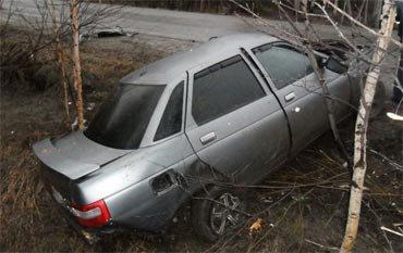 На 185 км Серовской трассы погиб водитель ВАЗ-2110