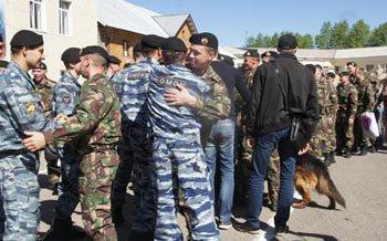 Бойцы тагильского ОМОН вернулись из служебной командировки с Северного Кавказа