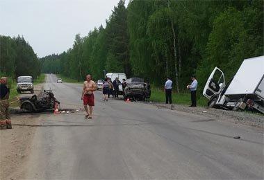 Недалеко от села Николо-Павловское в ДТП погиб мотоциклист