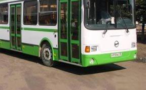 Автобус ЛиАЗ наехал на пенсионерку на Восточном шоссе