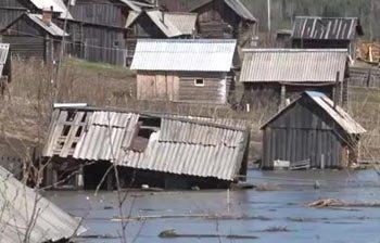 В поселке Висимо-Уткинск отмечен резкий подъем уровня воды в местном водохранилище