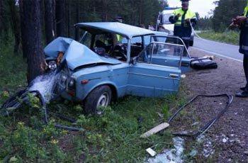Пьяный водитель ВАЗа покалечил пассажиров в пригороде Нижнего Тагила