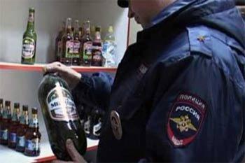 В Нижнем Тагиле изъято 350 литров алкогольной продукции