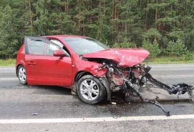 На 71 км Тюменской трассы недалеко от Богдановича в ДТП погибли два человека