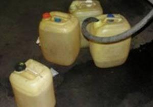 Тагильчанин украл 45 литров солярки, но был задержан полицейскими