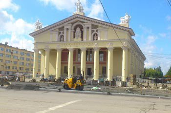 Ремонт Драматического театра завершен в установленные сроки