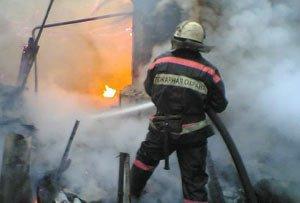 Во время пожара коллективном саду в Верхней Салде погибли два человека