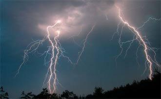 В Свердловской области объявлено штормовое предупреждение на 17-19 августа 2015 года