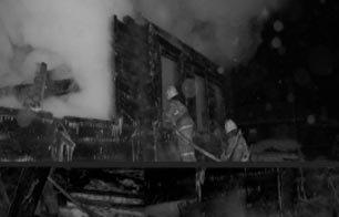 Во время пожара в селе Николо-Павловское погибли два человека