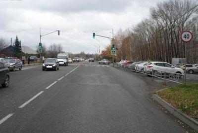 Водитель-бесправник сбил пешехода на улице Красногвардейская