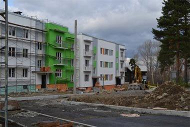 Сергей Носов проверил ход строительства жилья на улице Красногвардейская