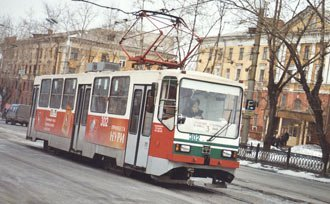 Движение трамваев по мосту на улице Фрунзе закрывается с 16 ноября