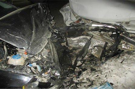 В районе Черноисточинска пьяный водитель ГАЗа врезался в иномарку