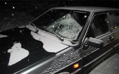 Водитель ВАЗа сбил бомжа на Северном шоссе