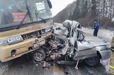 Три человека погибли в ДТП на трассе
