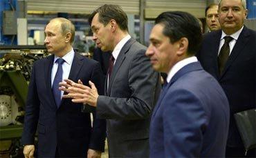Владимир Путин посетил УВЗ и осмотрел танковый конвейер