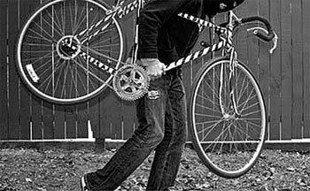 За кражу велосипеда задержан вор-рецидивист