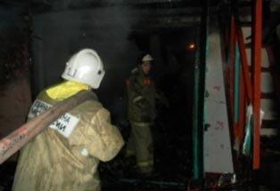 На Старой Гальянке сгорел жилой дом с надворными постройками, люди не пострадали