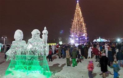 У ФОКа на ГГМ открылся снежный городок