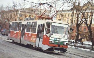 В новогодние праздники трамваи в Нижнем Тагиле будут ходить по специальному расписанию