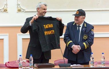 Сергей Носов выступил в Горном университете Екатеринбурга в Татьянин день