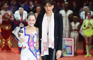 Юная тагильская гимнастка заняла 2 место на цирковом фестивале в Монте-Карло