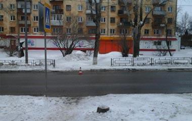 В поселке Старатель ВАЗ-2114 сбил пенсионерку на