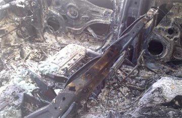 В Нижнем Тагиле огонь повредил автомашины