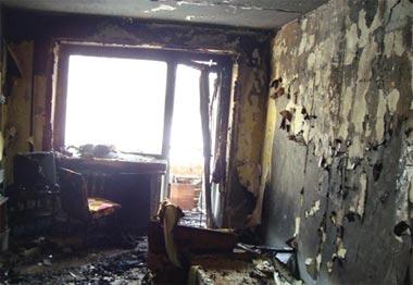Вчера вечером на Тагилстрое горела квартира в пятиэтажке на Кутузова