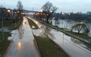Улица Серова открыта для транспорта