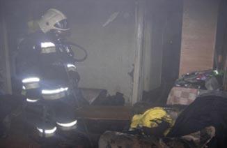 Сегодня ночью на Тагилстрое горели квартира и автомобиль