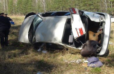 На Московском тракте в ДТП погиб водитель а/м