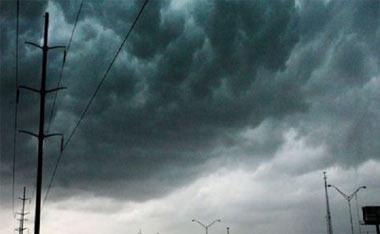 На 13 мая 2016 года в Свердловской области объявлено штормовое предупреждение