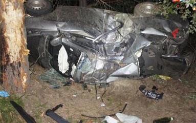 В пригороде Нижнего Тагила водитель иномарки врезался в дерево и погиб