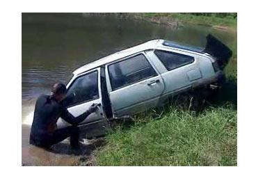В пригороде Нижнего Тагила водитель утонул вместе с автомобилем