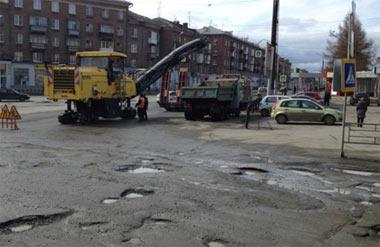 Гарантийные ремонты городских магистралей завершат  к 10 августа