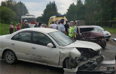 В ДТП на Северном подъезде к Нижнему Тагилу пострадали два человека, в том числе ребенок