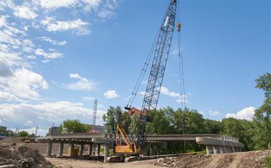 Движение по мосту через реку Тагил на Фрунзе может быть открыто в сентябре
