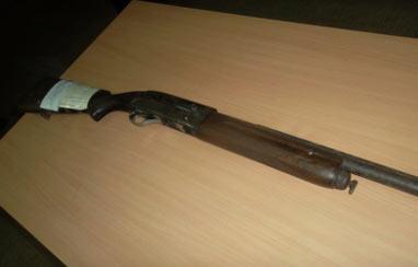 Тагильчанин сдал в полицию охотничье ружьё и патроны