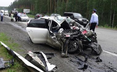 В двух ДТП в Свердловской области погибли три человека