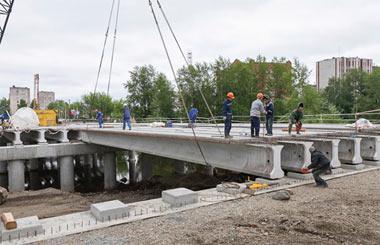 Губернатор Куйвашев выделяет городу 150 млн рублей на реконструкцию моста через реку Тагил