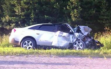 В ДТП на 77 км Тюменского тракта погиб водитель ВАЗ-2112