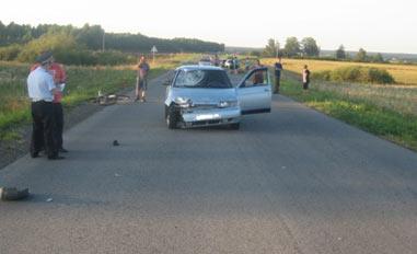 В Байкалово ВАЗ-2112 насмерть сбил велосипедиста