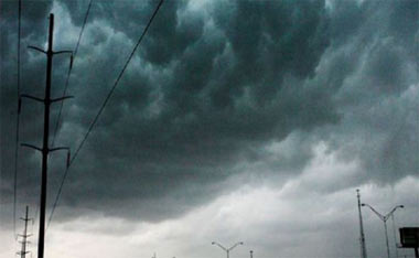 На 29 августа в Свердловской области объявлено штормовое предупреждение