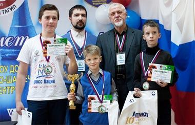 Володар Мурзин стал чемпионом Европы по шахматам среди мальчиков до 10 лет