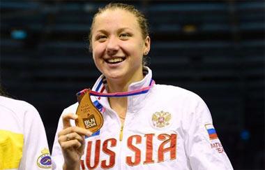 Тагильчанка Дарья Устинова выиграла две золотые медали на Кубке мира по плаванию