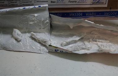В ИК-12 пытались передать наркотики в тюбиках с зубной пастой