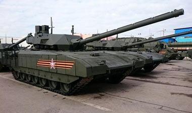УВЗ начинает поставки танков Т-14