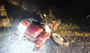 В ДТП с участием мотоцикла в пригороде Нижнего Тагила пострадала женщина